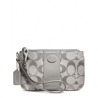 Coach :: Legacy Signature Small Wristlet