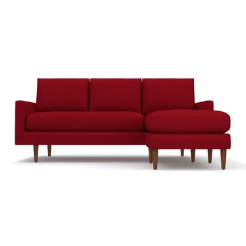 Scott Reversible Chaise Sofa from Kyle Schuneman CHOICE OF FABRICS