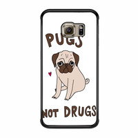 Pug Not Drugs Samsung Galaxy S6 Edge Plus Case