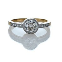 Leigh Jay Nacht Inc. - Replica Edwardian Engagement Ring - 3135-01