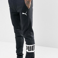 Puma Rebel Joggers In Black 59246801 at asos.com