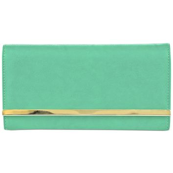 Stella & Max We Go Together All I Need Clutch Wallet