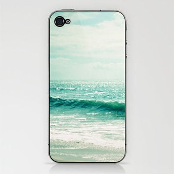 Sea of Tranquility... iPhone & iPod Skin by Lisa Argyropoulos | Society6