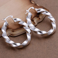 Lightweight Twisted Earrings