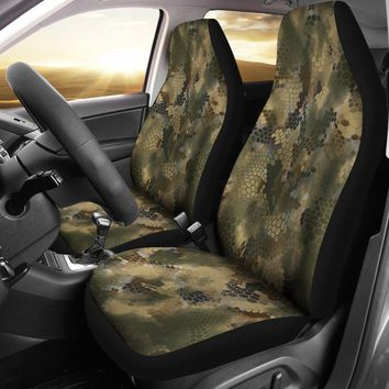 Chameleon Camo Designed Seat Covers