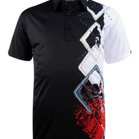 Player ProCool Men's Golf Shirt (Black)