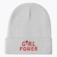 Girl Power Knit Beanie