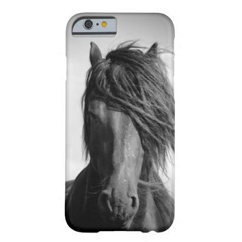 Two Friesian stallions. Barely There iPhone 6 Case