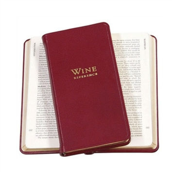 Professional Wine Reference in Crocodile Embossed Leather