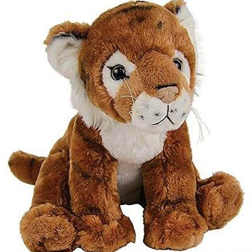 "Wildlife Tree 11"" Tiger Stuffed Animal Plush Floppy Zoo Animal Den Collection"