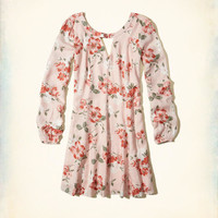 Girls Cutout Swing Dress | Girls Dresses & Rompers | HollisterCo.com