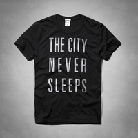 City Never Sleeps Graphic Tee