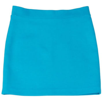 Teela Pencil Skirt in Turquoise