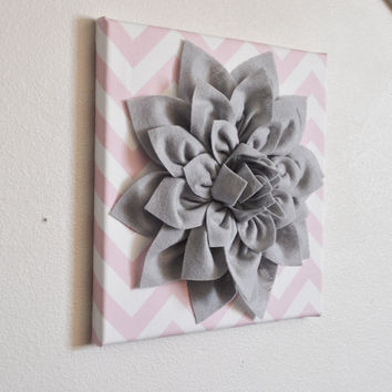 Light Pink / Grey Wall Decor