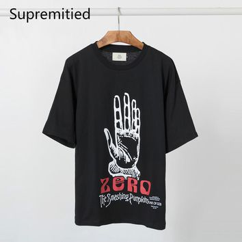 Supremitied Fog Fear of God Tee Shirt Men Hip Hop Kanye Justin Bieber Zero Summer Over