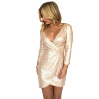 Ready Set Sequin Dress