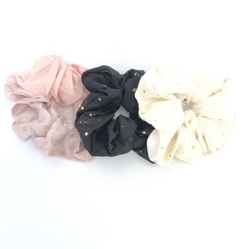 The Star & The Moon Hair Scrunchies Set
