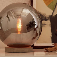 Round Cloche Table Lamp - Urban Outfitters