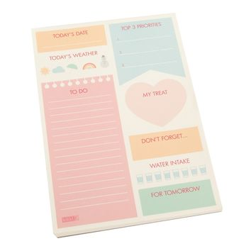 MINI DAILY PLANNER PAD: CUTE