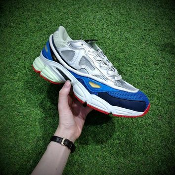 Raf Simons x Adidas Consortium Ozweego 2 B26076 2018 Women Men Casual Trending Running Sports Shoes Sneakers