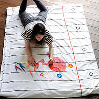 doodle duvet cover by stitch designworks | notonthehighstreet.com