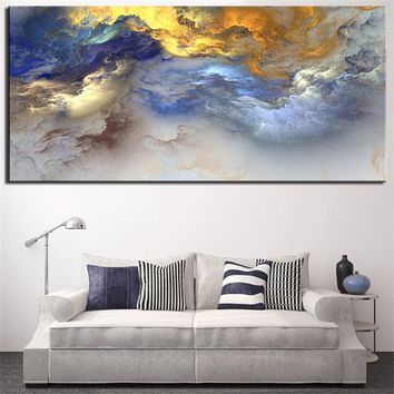 Painting, Abstract Art, Canvas Wall art, Happy home On canvas, Original Art, Landscape Art, Abstract Painting printed no framed