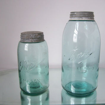 20 PERCENT OFF Antique Ball Mason Jars Wedding Decor Centerpiece 3 Loop L logo