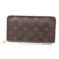Authentic Louis Vuitton Zippy Wallet Browns Monogram