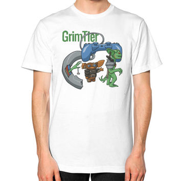 Gaming Gremlins Unisex T-Shirt (on man)