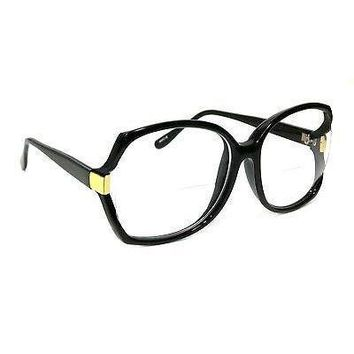 NWT WOMEN RETRO READING GLASSES BIFOCAL OVERSIZED DIXIE STYLE LARGE FRAME READER