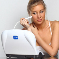 The Pore Cleaning Microdermabrasion System - Hammacher Schlemmer
