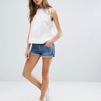 Levi's Shorts with Roll Hem at asos.com