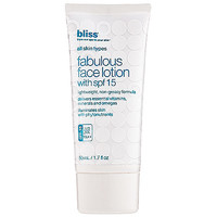 Bliss Fabulous Face Lotion with SPF 15 (1.7 oz)