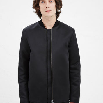 Totokaelo - Acne Studios Black Martyn Main Coat - $690.00