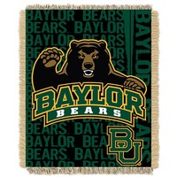Baylor Bears Jacquard Throw Blanket by Northwest (Bay Team)