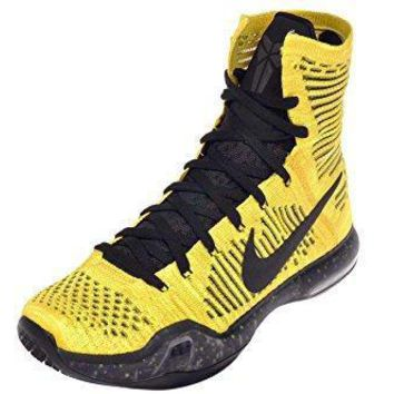 nike men s kobe x elite coda tour yellow black volt nike kobe  number 2