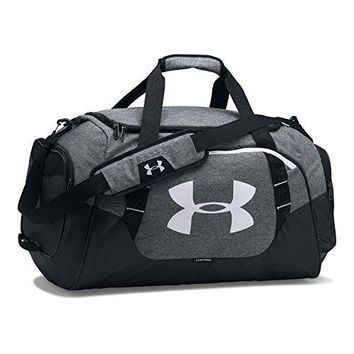 Under Armour Undeniable 3.0 Medium Duffle Bag, Graphite (041)/White