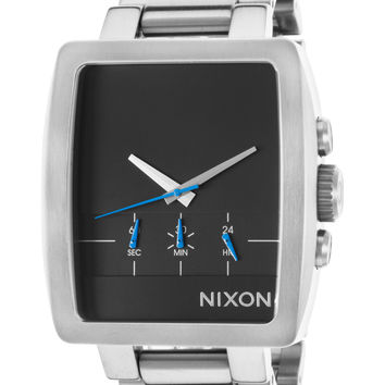 Nixon Men's Axis Stainless Steel Chronograph Watch, 42mm - Silver