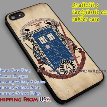 Fandoms Sherlock Dr Who Supernatural Vintage iPhone 7 7+ 6s 6 Cases Samsung Galaxy S8 S7 edge S6 S5 NOTE 5 4
