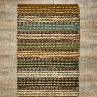 **2x3 Earthly Stripes Rug**