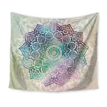 Rainbow Mandala Hanging Wall Tapestry
