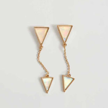 BKE TRIANGLE EARRING