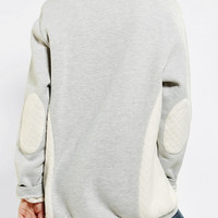 Urban Outfitters - Sparkle & Fade Quilted Pullover Sweatshirt