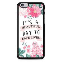 Grey Anatomy Quotes iPhone 6/6S Case