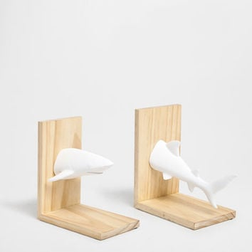 SHARK-SHAPED BOOKEND - Accessories - Decor and pillows | Zara Home United States