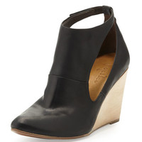 Coclico Jory Cutout Wedge Bootie