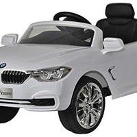 Ride On Cars BMW 4 Series Ride On 12V , White