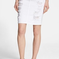 Women's Current/Elliott 'The Stiletto' Denim Pencil Skirt