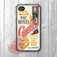 Disney Cinderella Vintage Cover -trtr for iPhone 4/4S/5/5S/5C/6/ 6+,samsung S3/S4/S5,samsung note 3/4
