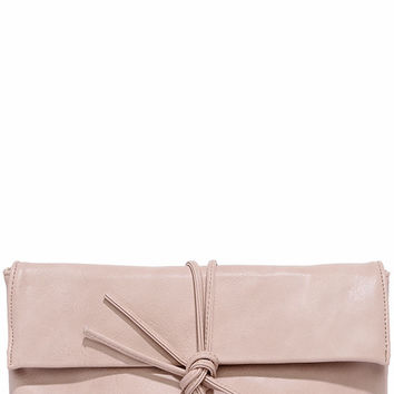 Roped In Blush Pink Clutch